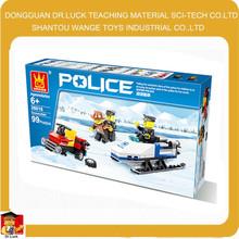 Shantou toys Police snowmobile children toys china import toys