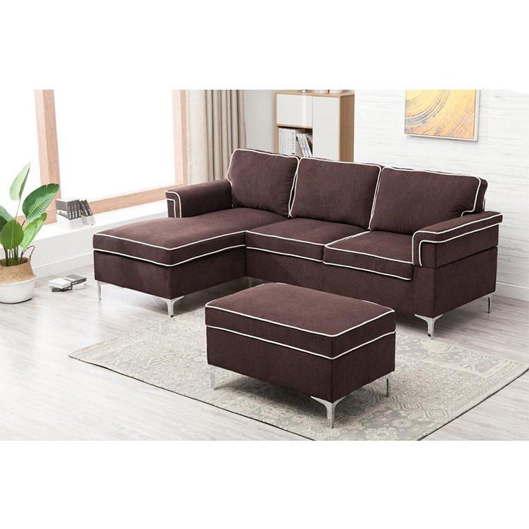 Nach maß neue braun stoff couch ecke schnitts sofa sofas und <span class=keywords><strong>sectionals</strong></span>