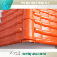 New Type Anti-Fading Waterproof Performance Corrugated Plastic Pvc Roof Tile