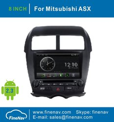 Android OS S150 2 DIN A8 Chipest 3G Wifi Car DVD Player for Mitsubishi ASX 2011 With GPS Navigation Radio BT TV Ipod