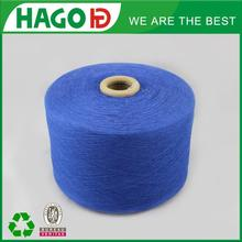 OE Recycle Yarn Cotton Blended Polyester hand knitting yarn Ne12s