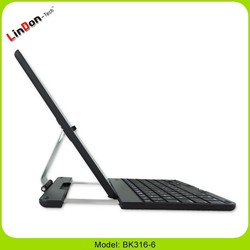 360 rotation bluetooth keyboard case for ipad air/5 BK316-6