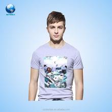 2015 BIGWORLD popular Custom 3d t- Shirt / fashion cotton 3d t-shirt design for man