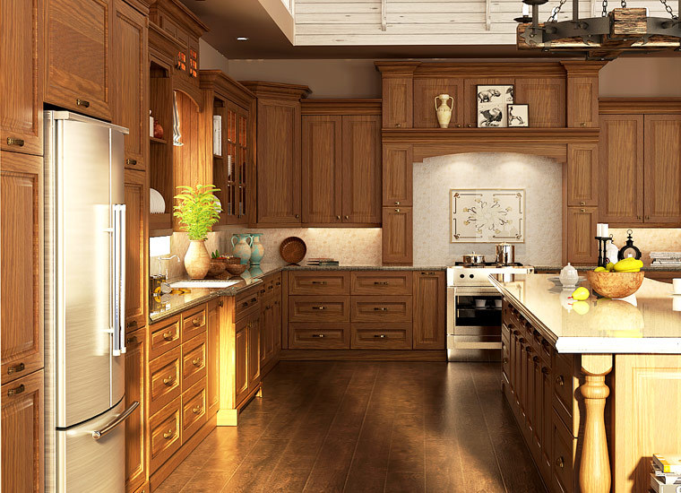 neue amerikanische küchenschränke design moderne küche preise ...