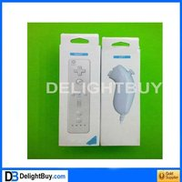 Game Controller with Silicon Case for Wii with retail color box