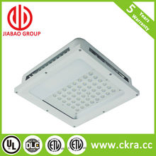 high quality AC100-277v/347v with 5 years warranty DLC led canopy light manufacturers with motion sensor option