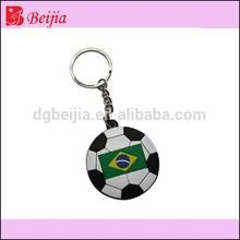 Hot key ring app football keychain key fob for crazy fans