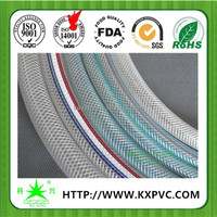Best price nylon fabric reinforced clear high temperature flexible hose pipe