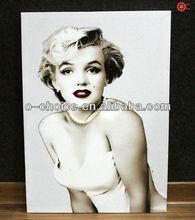 Wk-27 de alta calidad bajo precio de mujer hecha a mano retrato lienzo de pintura al óleo