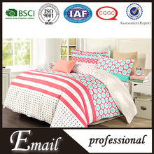 2015 Christams designs print pattern China brand name bedding cover comforter set