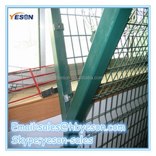 Cheap Y type column fence with barbed wire Fence with razor barbed wire Fence post