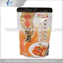 Aluminum Foil Standing up Pouch for Spice Packaging