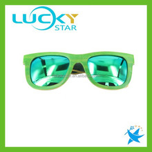 Green skateboard sunglasses wood with polarized lens sunglasses lots wholesale
