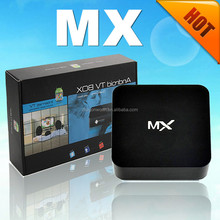 Hot Amlogic 8726 dual core android 4.2 tv box MX , 4K*2K, XBMC, 1G+8G smart android 4.2 MX payment accept