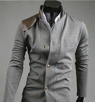2013 posts Hitz pocket design personalized leather men jacket jk31
