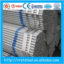 galvanized pipe outside diameter / high quality 2.5 inch hot-dip galvanized pipe
