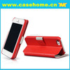 PU leather cover case for iPhon 5 & 5S, for iPhone5S leather case, Factory for iphone case