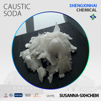Factory Price Caustic Soda Flakes/Sodium Hydroxide Flakes Raw Material Textile Paper Detergent Soap Making Industrial Grade 99%