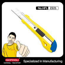 Very Sharp Easy Use Export Free Sample Safety Knife For Cutting