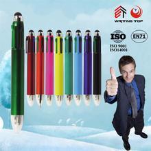 new fashion 2 in 1 refills multi colored ball pen