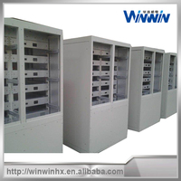 Sheet metal cabinet designed for power supply cabinet.