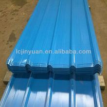 ppgi color coated corrugated steel roofing/galvanized prepainted metal roof tile
