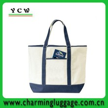 supplier large shopping canvas tote bag