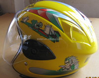 multicolor vintage open face helmet export/good for gifts