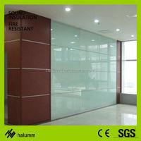 demountable cubicle panels dubai soundproof folding office partition glass wall