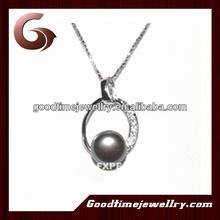black pearl hanging pendant