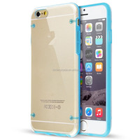 """Crystal Clear Transparent Soft Silicon 0.3mm TPU Case for iPhone 6 4.7"""" Cases Cover Shell"""