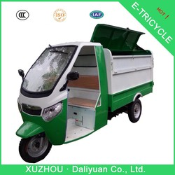 electric garbage 3 wheel moped electric bike 3 wheel for adults