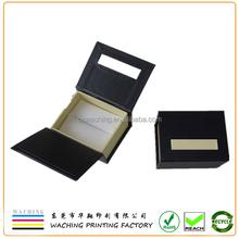 Custom Beautiful Black Cardboard Gift Box With Lid