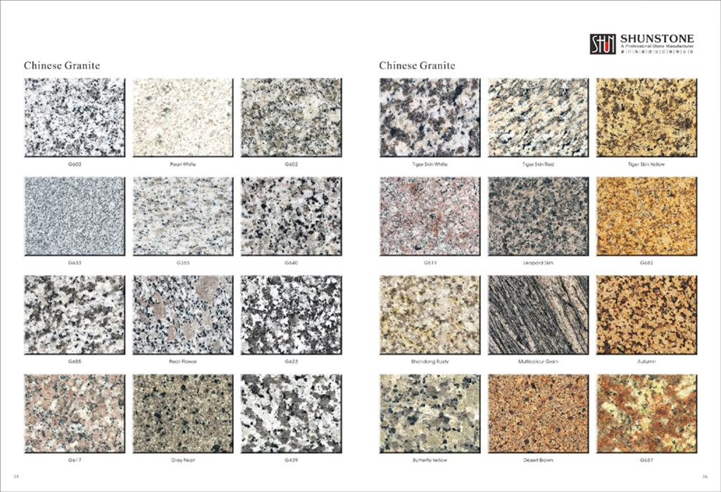 Importado de m rmol y granito de suministro de las for Tipos de marmol granito