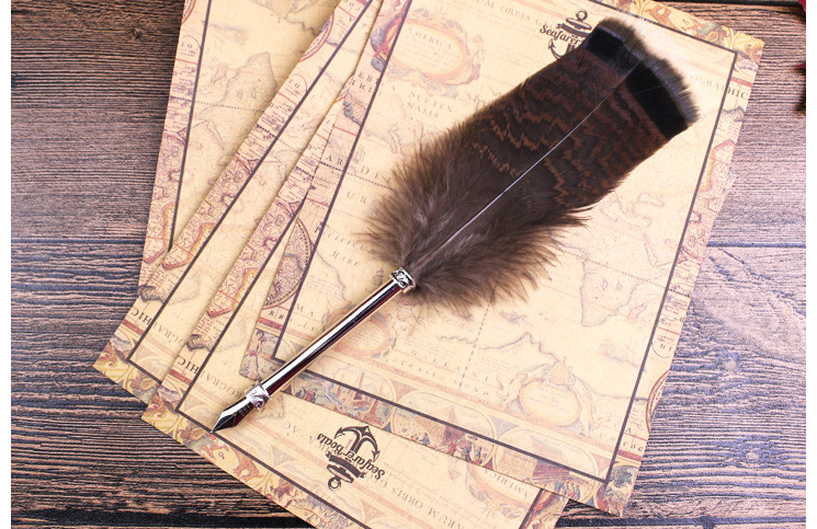 antique dip stylo plume stylo harry potter cadeau ensemble pour amis stylo plume id de produit. Black Bedroom Furniture Sets. Home Design Ideas