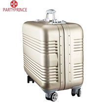 china supplier total trolly travel magnesium luggage aluminum luggage case