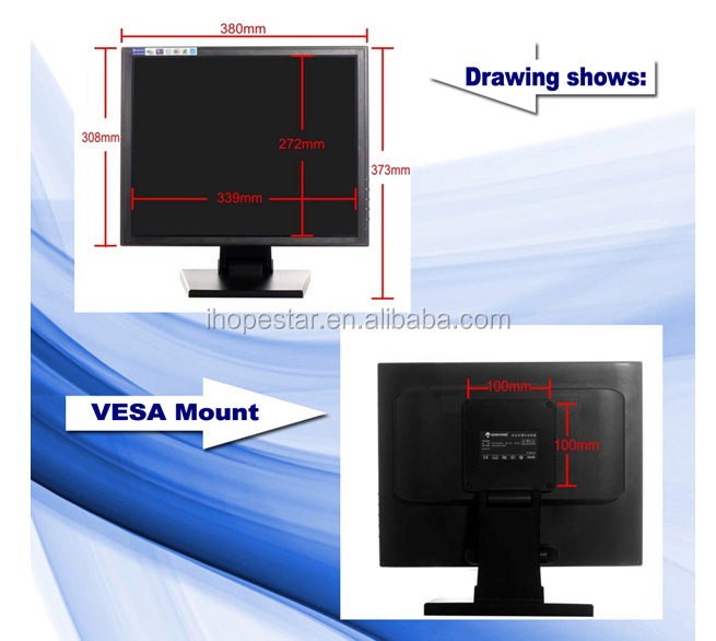 15 pouce 17 pouce 19 pouce usb moniteur cran tactile pour ordinateur de bureau moniteur. Black Bedroom Furniture Sets. Home Design Ideas