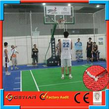 plastic outdoor basketball court floor