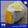 Custom White cotton Polyester work dotted safety gloves