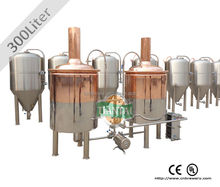 300L micro or mini stainless steel beer making equipment in China