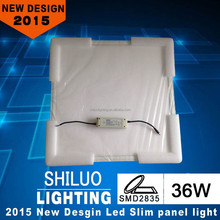 36W 40W 45W SMD2835, 80lm/w, pf>0.9 ,square led panel light manufacturers