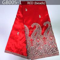 GB005-1 2015 New design African George wedding dress