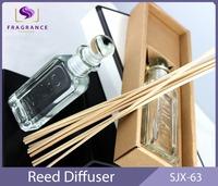 Aroma therapy room scent diffuser transparent bottiglia perfume diffuser