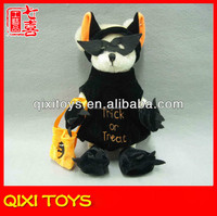 The halloween stuffed plush cat halloween plush black cat