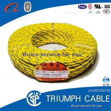 SIAF GL - Multi wire conductor single core fibreglass braided silicone rubber insulated cable