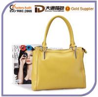 2015 New Design Women Genuine Cow Leather Waterproof Laptop Lady Handbag Messenger Shoulder Tote Bag