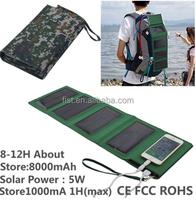 Solar Panel Portable Charger Backup External Battery Pack/Solar power bank 80000mAh