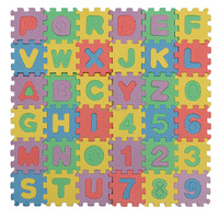 New Brand Alphabet And Numerals Baby Kids Play Mat Educational Toy Soft Foam Mats 36pcs/Set Hot Sale
