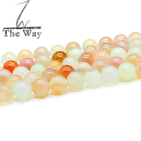 Good Selling candy color agate beads light color agate