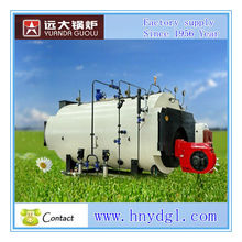 dual fuel gas/oil boiler ,new wns series steam boiler for industrial used
